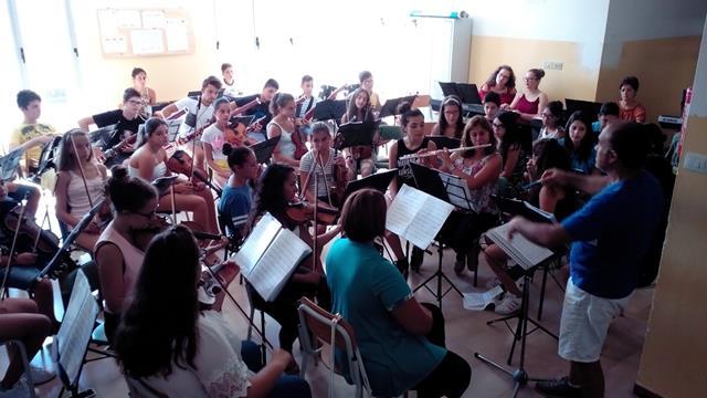 Attività estiva dell'orchestra Sinapsi